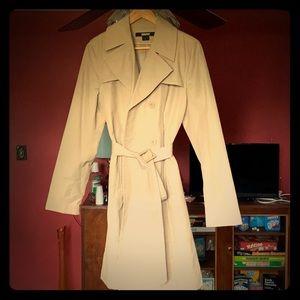 DKNY raincoat women's size L